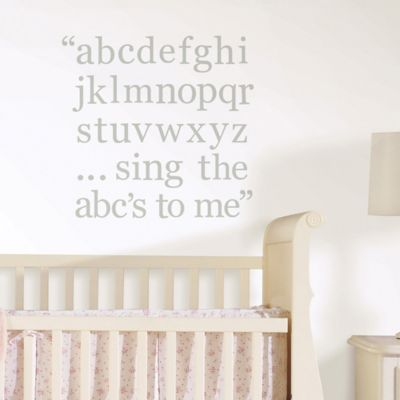Decorative Nursery Letters