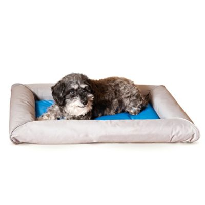 Medium Cool Bed Deluxe™ Pet Bed in Grey/Blue