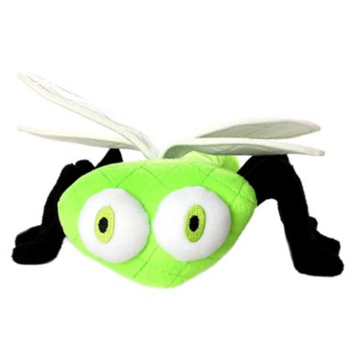 Mighty Toy Bug Series Dragonfly Soft Dog Toy in Green