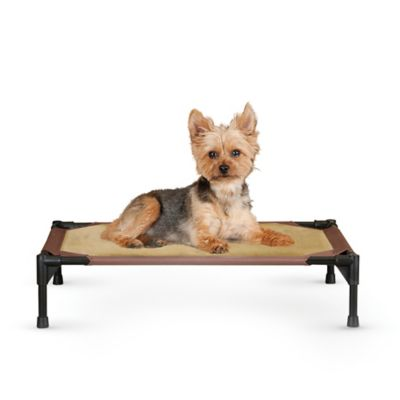 Comfy Pet Cot™ in Mocha/Tan