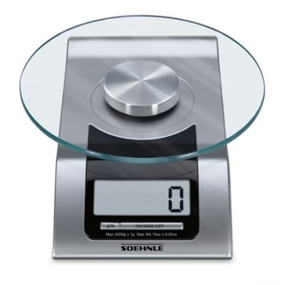 Soehnle STYLE Precision Digital Food Scale in Silver