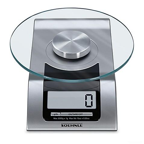 Buy Soehnle Style Precision Digital Food Scale In Silver
