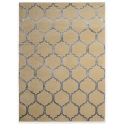Radiance 1 5-Foot 3-Inch x 6-Foot 4-Inch Area Rug in Beige