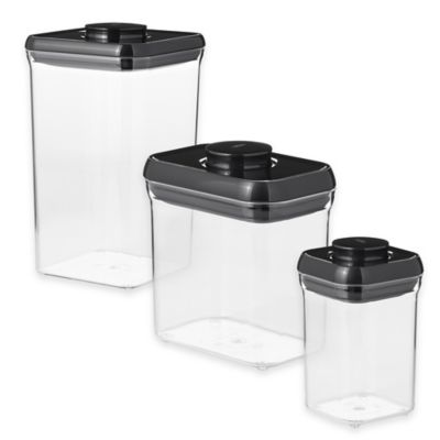 Black Food Storage Containers