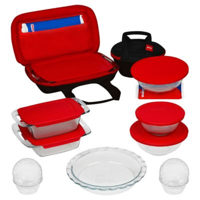 Pyrex® 21-Piece Bake, Prep, Store, and Transport Bakeware Set