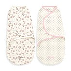 Little Me® Small/Medium Original Swaddle by SwaddleMe® 2-Pack Sweet Owls Swaddles