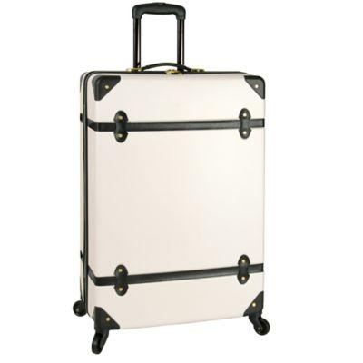 Diane Von Furstenberg® DVF® Saluti 28-Inch 4-Wheel Spinner in White/Black