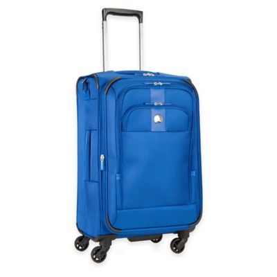DELSEY Depart 21-Inch Carry-On Spinner in Blue