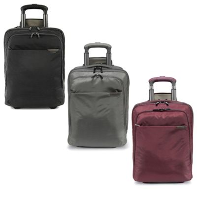 Expanded Work Out Trolley Case in Burgundy