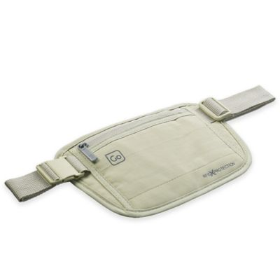 Go Travel RFID Money Belt in Beige