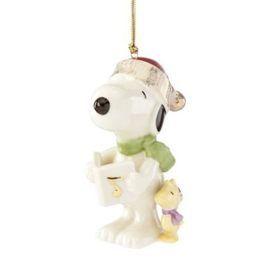 Lenox® Christmas Caroling with Snoopy Ornament