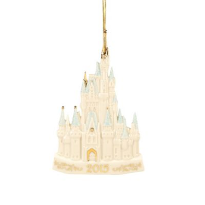 Lenox® 2015 Cinderella Castle Ornament