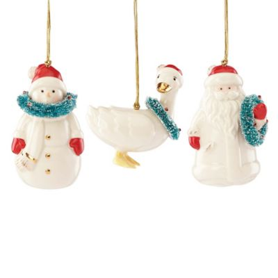 Lenox® 3-Piece Very Berry Merry Ornament Set