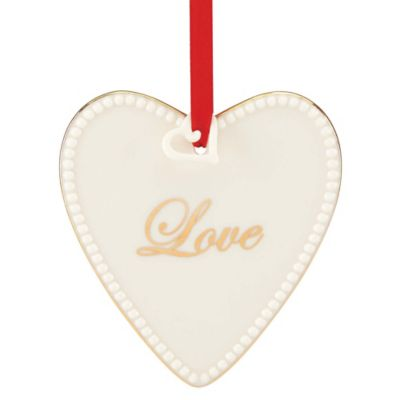 Lenox® Expressions from the Heart Love Ornament