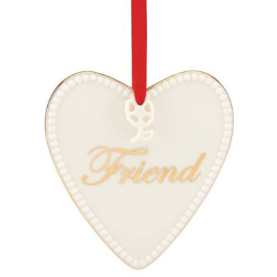 Lenox® Expressions from the Heart Friend Ornament