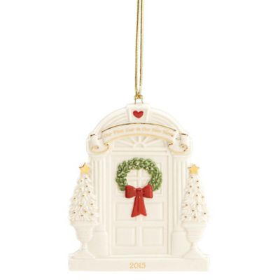 """Lenox® 2015 """"Our First Year in Our New Home"""" Ornament"""