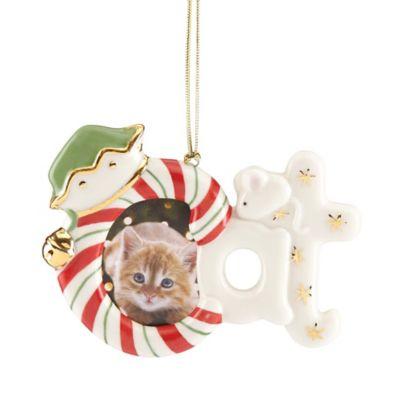 Lenox® Cat Frame Ornament