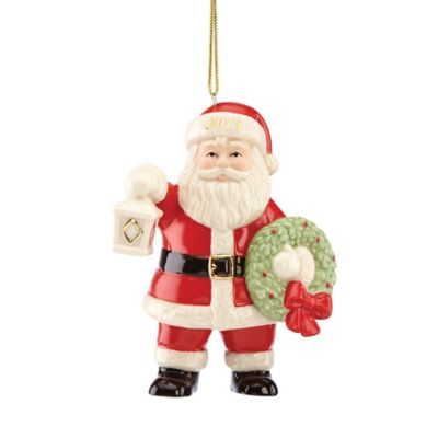 Lenox® 2015 Lighting the Way Santa Ornament