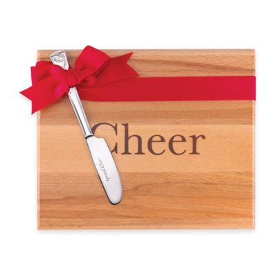 Lenox® Cheer Wood Board with Spreader