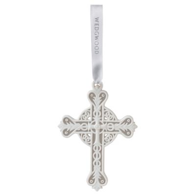Wedgwood® 2015 Figural Cross Ornament
