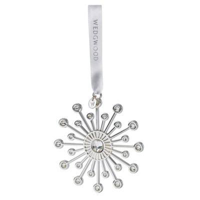 Wedgwood® Silver Crystal Star Ornament