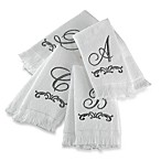 Monogram Fingertip Towels by Avanti, 100% Cotton