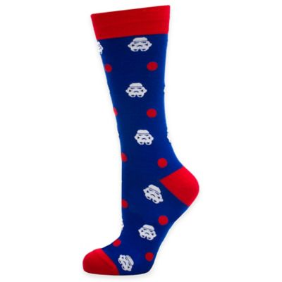 Star Wars™ Stormtrooper Dot Socks in Blue/Red/White