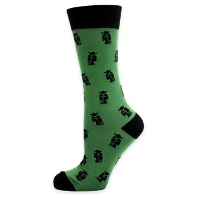 Star Wars™ Yoda Socks in Green/Black