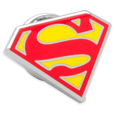 Superman Shield Lapel Pin