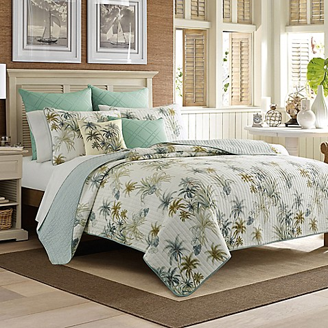 Tommy Bahama 174 Serenity Palms Quilt Bed Bath Amp Beyond