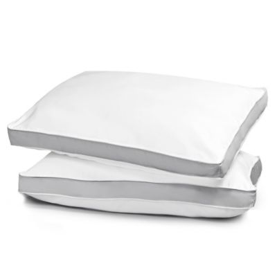 2-Pack Egyptian Cotton Down Alternative Standard/Queen Pillows