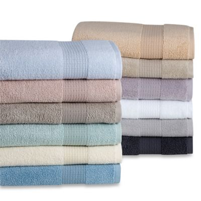 Wamsutta® Haven MICRO COTTON® Bath Mat in Light Blue