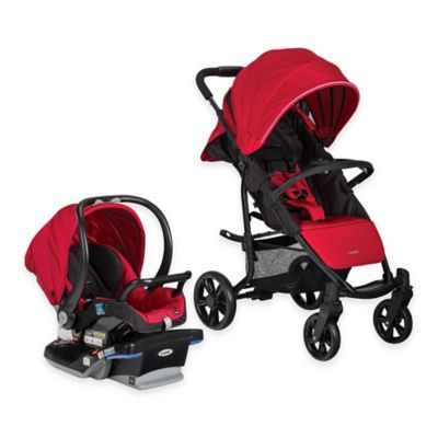 Combi® Shuttle Travel System in Red Chili