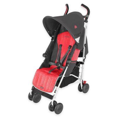 Maclaren® 2015 Quest Stroller in Charcoal/Cardinal