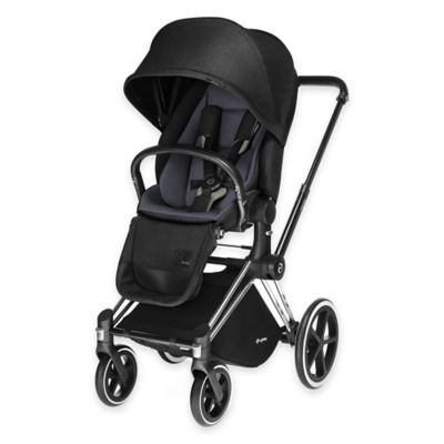 Cybex Priam Lux Seat in Black Beauty Denim
