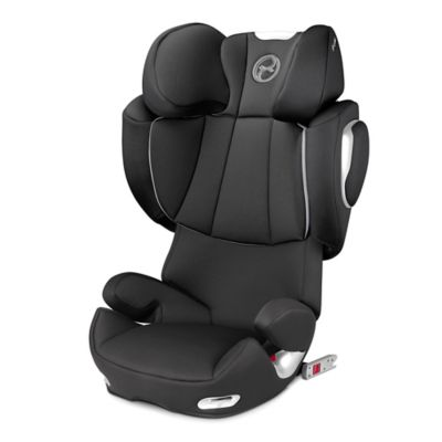 Cybex Platinum Solution Q2-fix Highback Booster Seat in Black Beauty