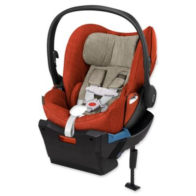 Cybex Cloud Q Plus Infant Car Seat with Load Leg Base in Autumn Gold
