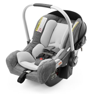 Stokke® PIPA™ by Nuna® Infant Car Seat with Base in Black/Black Melange