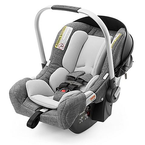 stokke pipa by nuna infant car seat with base in black black melange buybuy baby. Black Bedroom Furniture Sets. Home Design Ideas
