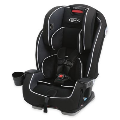Graco® Milestone™ All-in-1 Booster Car Seat in Black/Grey