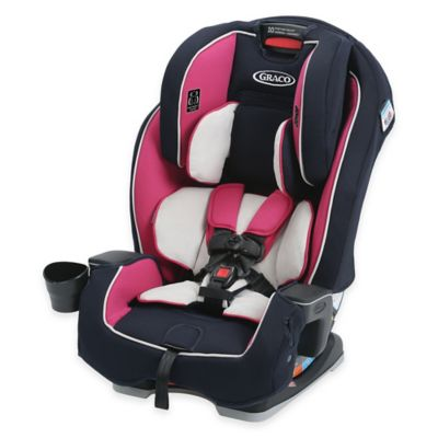 Graco® Milestone™ All-in-1 Booster Car Seat in Pink/Navy