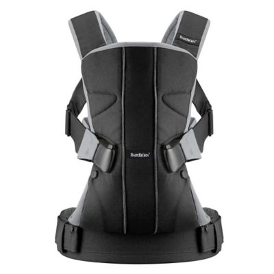 BABYBJORN® Baby Carrier One in Black/Silver