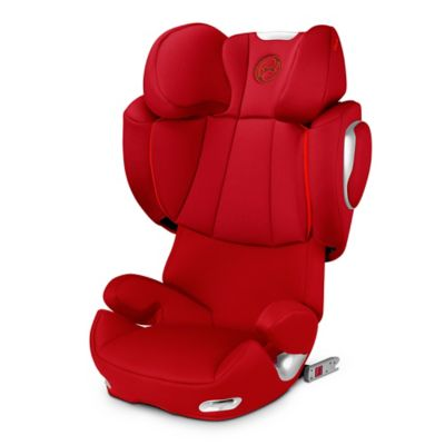 Cybex Platinum Solution Q2-fix Highback Booster Seat in Hot & Spicy