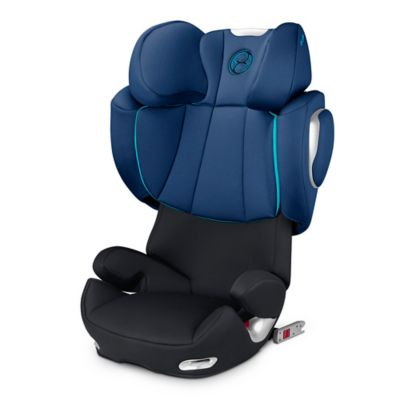 Cybex Platinum Solution Q2-fix Highback Booster Seat in True Blue