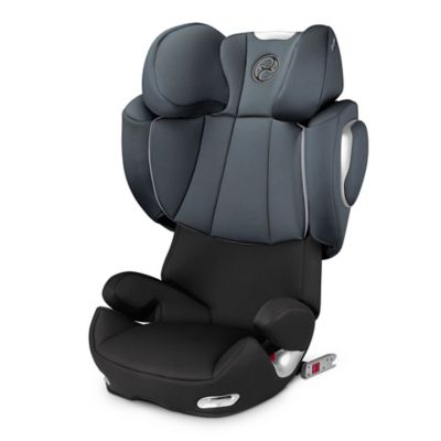 Cybex Platinum Solution Q2-fix Highback Booster Seat in Moon Dust