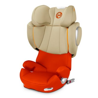 Cybex Platinum Solution Q2-fix Highback Booster Seat in Autumn Gold