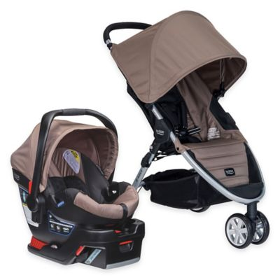 BRITAX B-Agile 3/B-Safe 35 Travel System in Sandstone