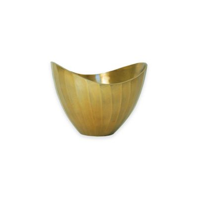 Simplydesignz Metallic 8-Inch Bowl in Gold