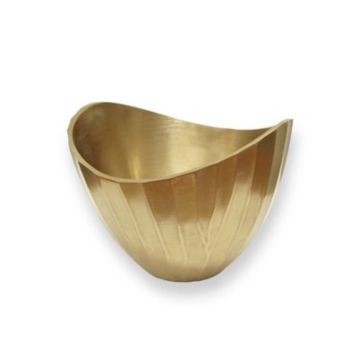 Golden Metallic Bowl