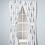 Laura Ashley® Sophia 84-Inch Drapery Panel Pair